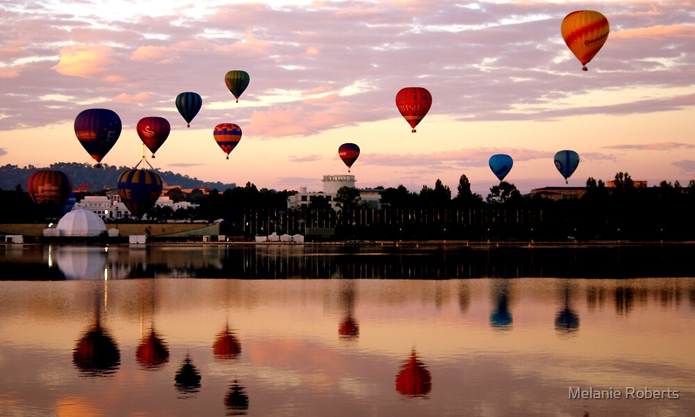 Quot 2011 Canberra Balloon Festival Quot By Melanie Roberts