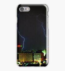 Lightning over Amman iPhone Case/Skin