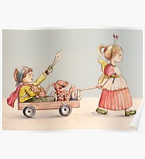 Super Pirate and the Fairy Princess Poster
