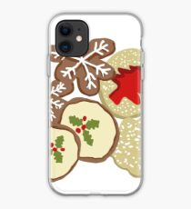 Decorated Christmas Cookies iPhone Case
