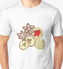 Decorated Christmas Cookies Slim Fit T-Shirt
