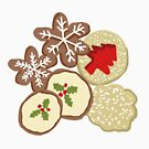 Decorated Christmas Cookies by thatsgraphic