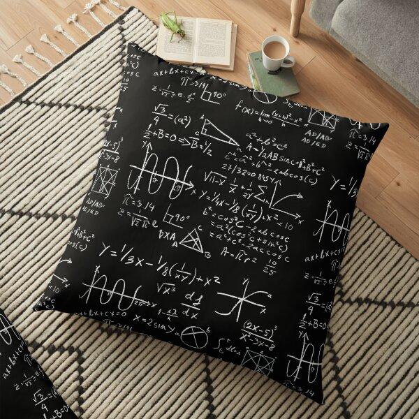 Math Floor Pillow
