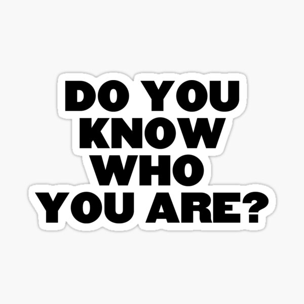 Do You Know Who You Are? Harry Styles Sticker