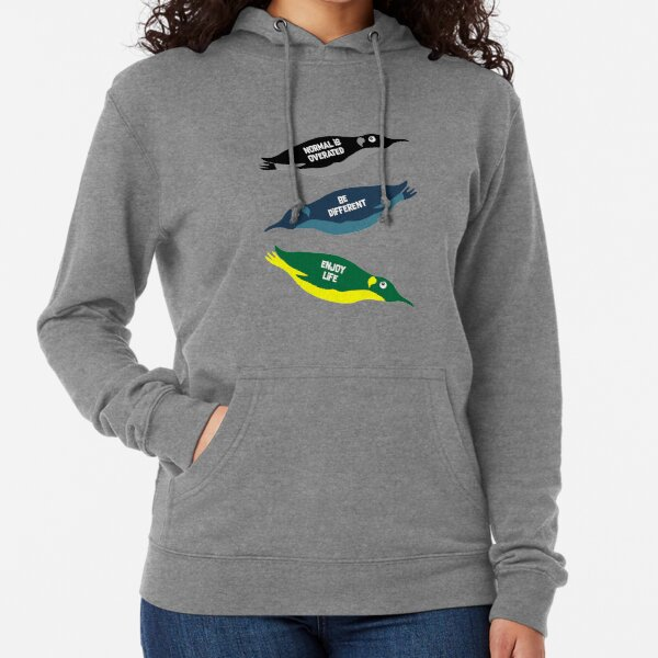 Aytpical Penguin- Cute Be Different t shirt - Be The Best T shirt - Be The Best t-shirt - Best Son - Best Daughter - Love Penguins Lightweight Hoodie