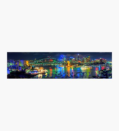 Sydney Fantasia - The HDR Experience Photographic Print
