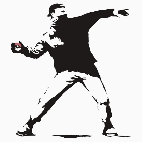 TShirtGifter presents: Pokeball Banksy