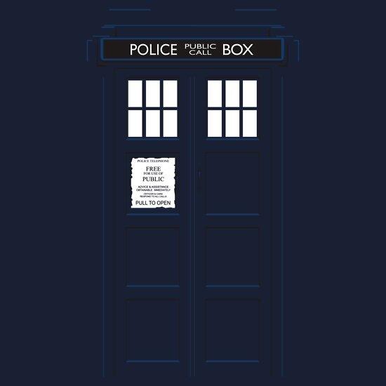 TShirtGifter presents: TARDIS facade