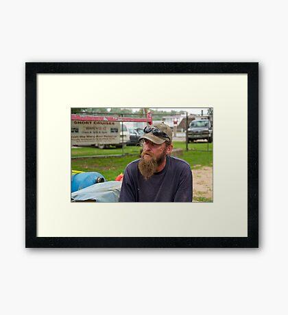 Portrait of a Stranger 1 Framed Print