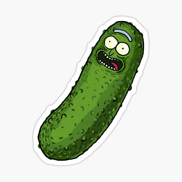 Pickle Rick Sticker
