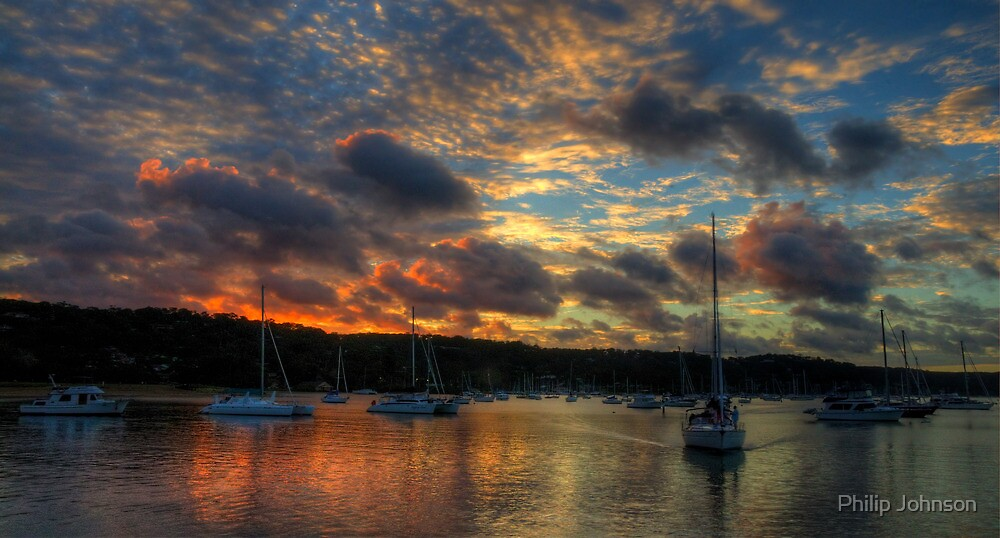 Home And Away - Newport Anchorage, Sydney - The HDR Experience by Philip Johnson