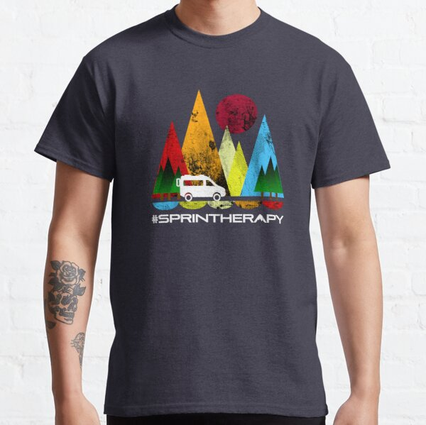 Moon and Mountains Classic T-Shirt