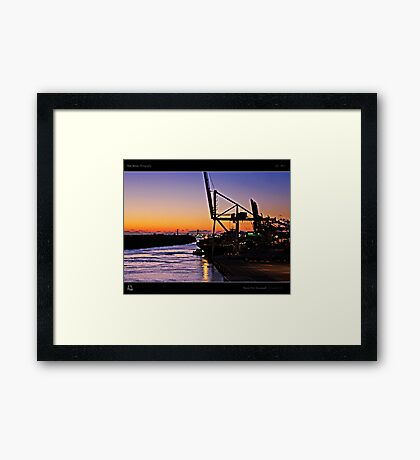 Dawn Over Savannah Framed Print