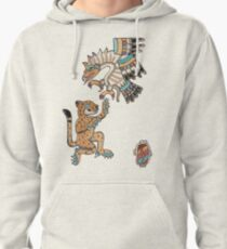 Ocelot and Eagle Pullover Hoodie