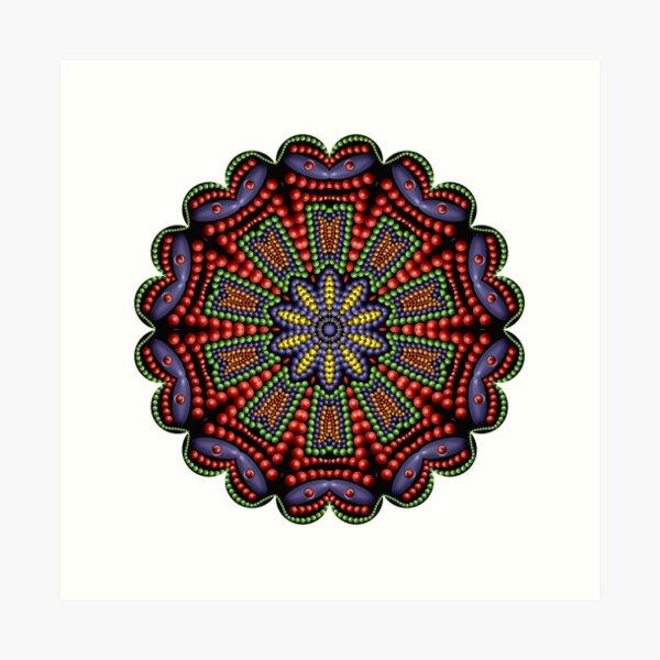 3D Mandala 031 Art Print