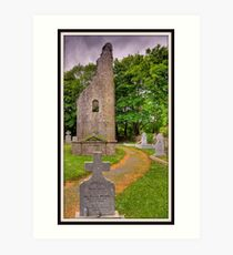 Ancient Celtic Ireland, County Clare Art Print