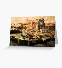 Venice 1968 Greeting Card