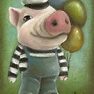 Jonathan the pig by tanyabond