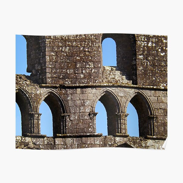 Fabric of Dryburgh Abbey Poster
