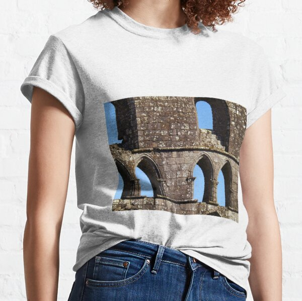 Fabric of Dryburgh Abbey Classic T-Shirt