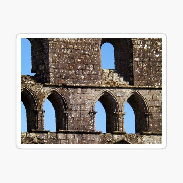 Fabric of Dryburgh Abbey Sticker