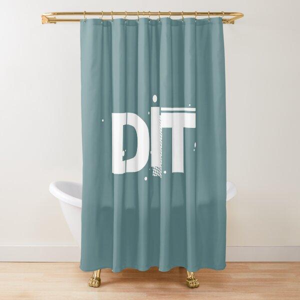 Film Crew. DIT. Shower Curtain