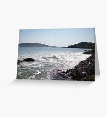 Kenmare bay, County Kerry, Eire Greeting Card