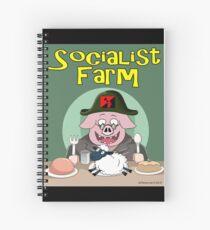 Socialist Farm Spiral Notebook