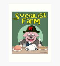 Socialist Farm Art Print