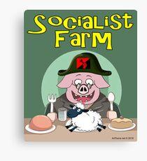 Socialist Farm Canvas Print