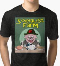 Socialist Farm Tri-blend T-Shirt