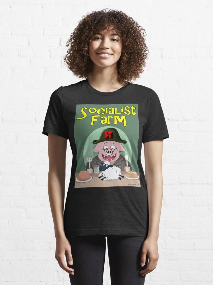 Alternate view of Socialist Farm Essential T-Shirt