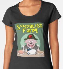 Socialist Farm Premium Scoop T-Shirt