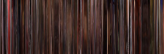Moviebarcode: Three Colours: Red (1994) by moviebarcode