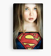 SUPER GIRL!!! Canvas Print
