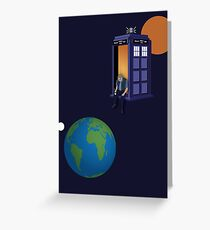 Doctor Who - A WhoView Greeting Card