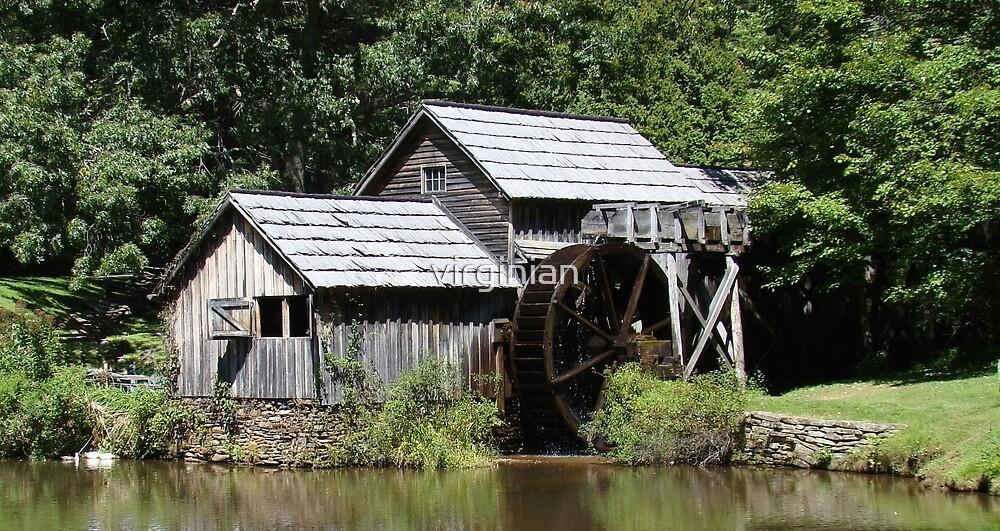 Mabry Mill~ by virginian