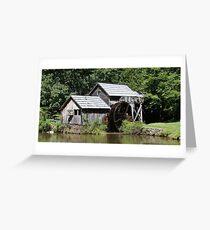 Mabry Mill~ Greeting Card