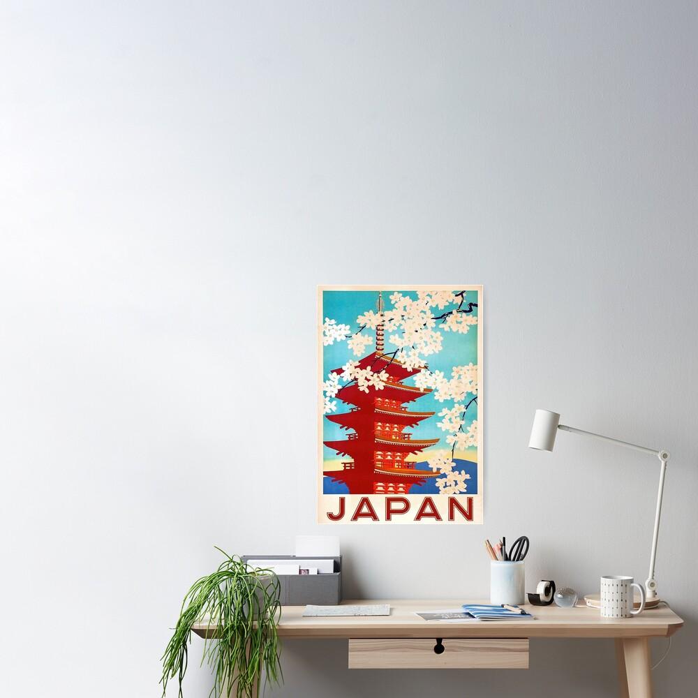Viajes a Japón Póster