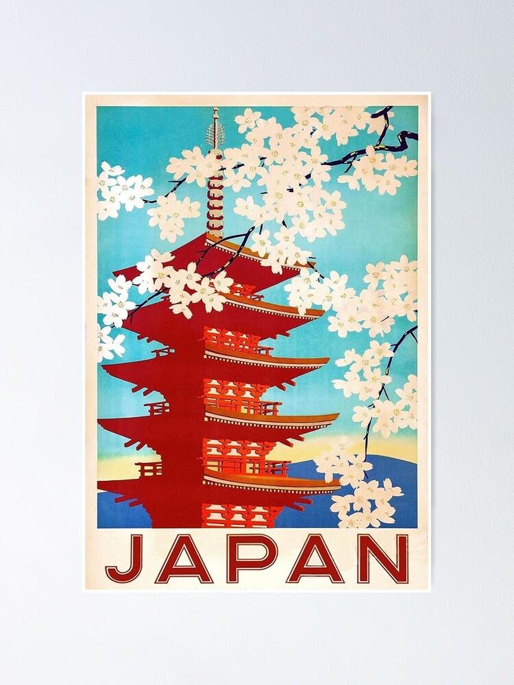 Vista alternativa de Póster Viajes a Japón