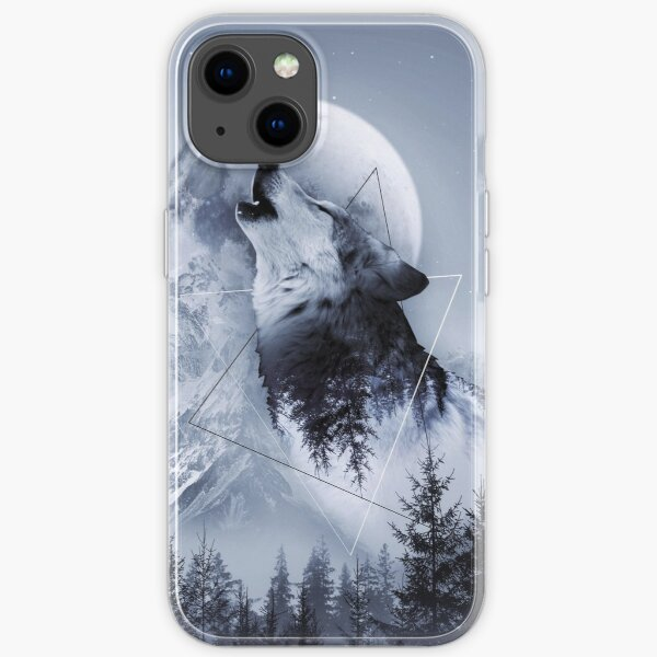 Howl with the Wolf iPhone Soft Case
