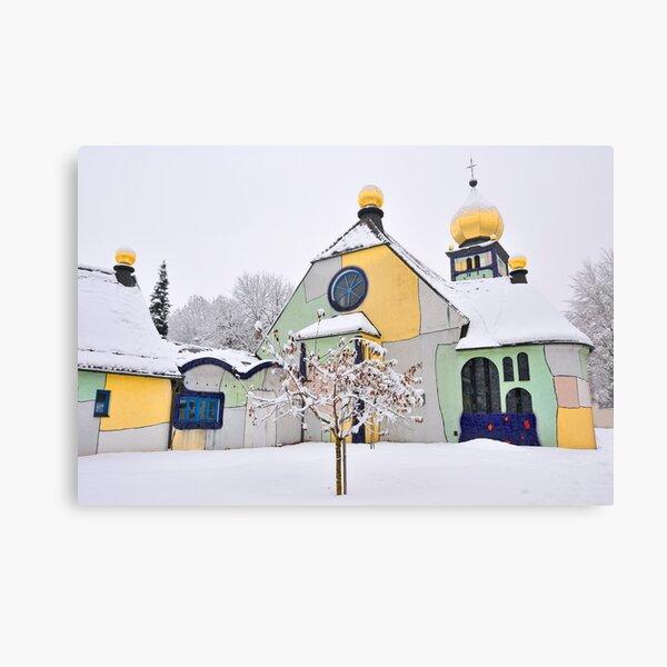 Hundertwasser Church Canvas Print