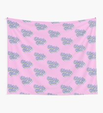 Oh my Glob  Lumpy Space Princess Adventure Time Typography Fan Art Wall Tapestry