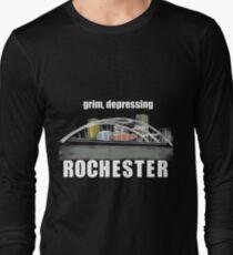 Grim, depressing Rochester  Long Sleeve T-Shirt