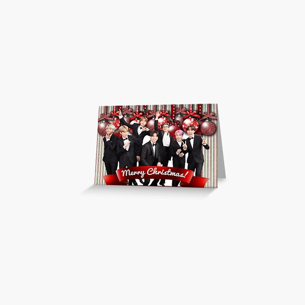 BTS CHRISTMAS CARD 3 Greeting Card