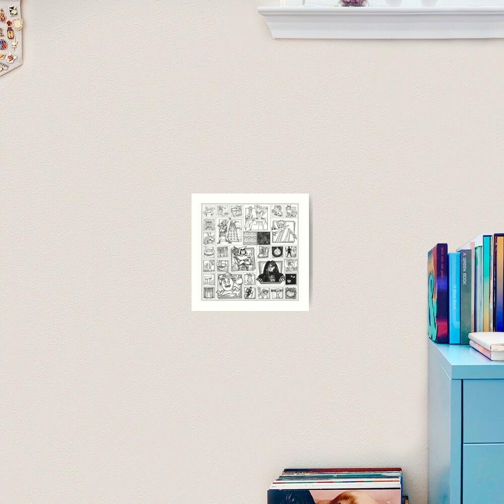 Inktober 2019 Art Print