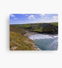 Lienzo Cornwall: Crackington Haven