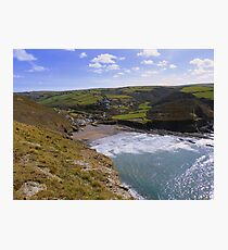 Cornwall: Crackington Haven Photographic Print