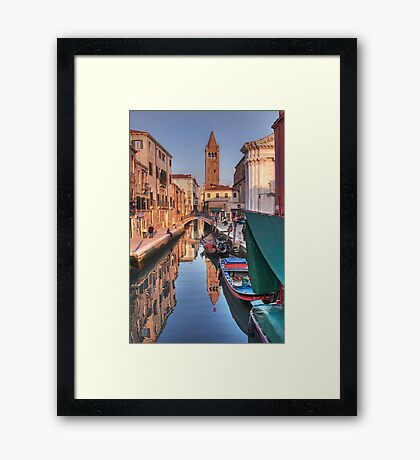 Rio and Church of St. Barnaba Framed Print