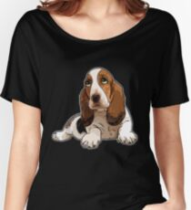 Basset Hound Women's Relaxed Fit T-Shirt
